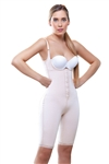 Long Leg Control Shapewear w/ Front Closure