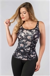Firm Control Floral Top Ref. 5001