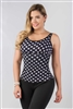 Firm Control Polka Dot Top Ref. 5002