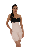 Strapless Body Shapewear w/butt lifter nude