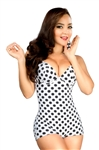 Polkadot Shapewear Swimsuit 681
