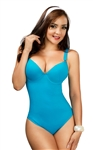 Blue Shapewear Swimsuit 681BLU