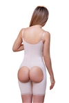 Open Bottom Mid thigh Shaper w/ Front Closure