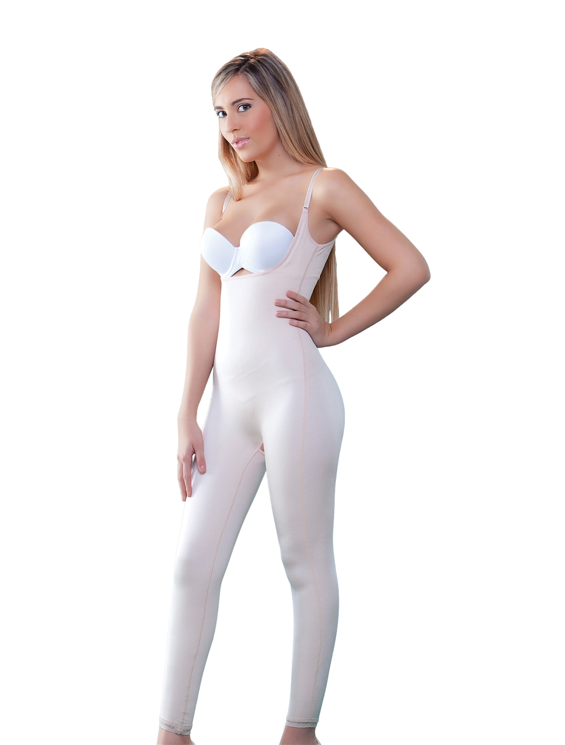 bfbd48c1c53 Long Leg Body Shaper · Larger Photo ...