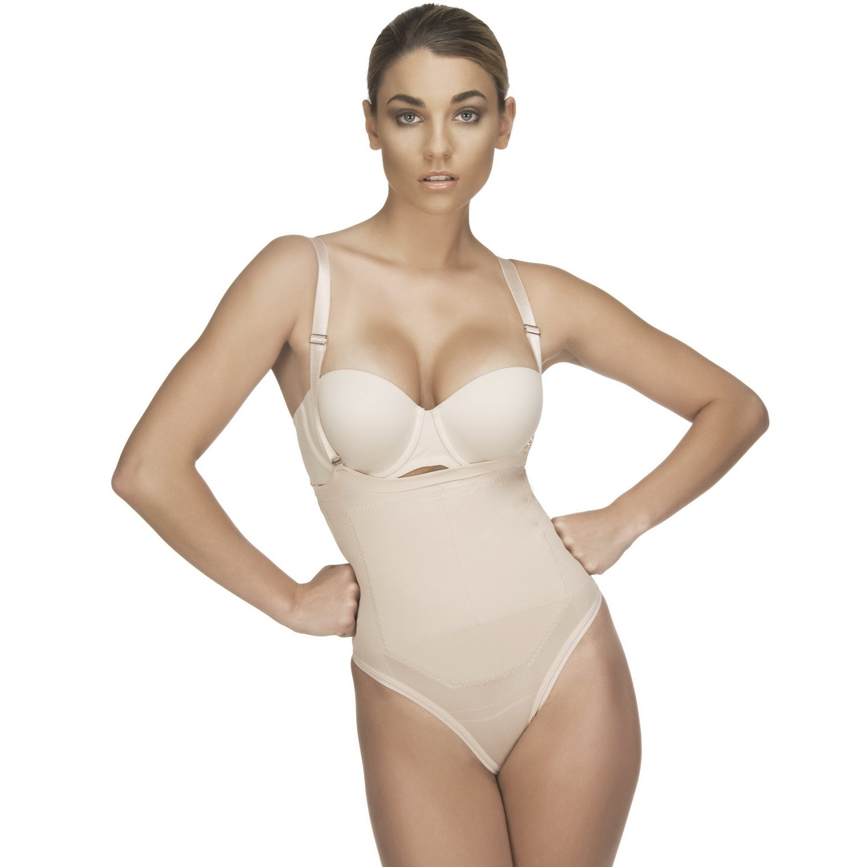 2e1e1ebf3506a Strapless Bodysuit in Thong